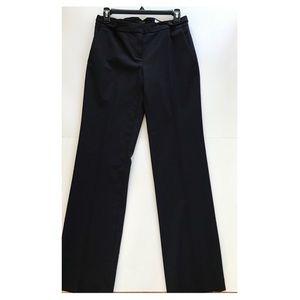 J.Crew Women's Navy Black Wool Blended pants sz 2